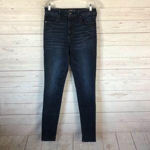 A & F Simone High Rise Super Skinny Jeans